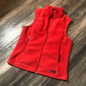 PATAGONIA Synchilla Full Zip Red/Pink Women's Vest